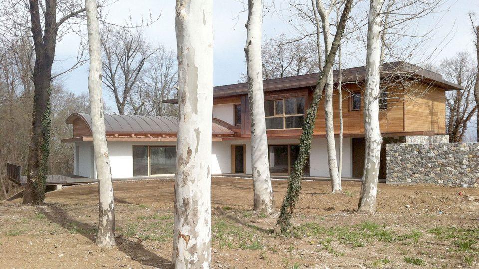 Casa in legno fa michielizanatta architetti udine treviso